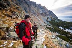 Slovakian Velicka Dolina Tatry mountains Royalty Free Stock Images