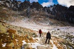Slovakian Velicka Dolina Tatry mountains Royalty Free Stock Photo