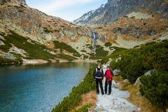 Slovakian Velicka Dolina Tatry mountains Royalty Free Stock Photos
