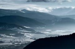 Slovakian zima Obraz Royalty Free
