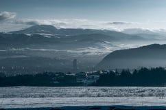 Slovakian zima Zdjęcie Royalty Free