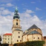 Slovakien - Nitra slott på dagen Royaltyfri Bild