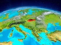 Slovakien på jord Royaltyfria Foton