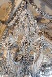 Slovakien Sedlec Ossuary fotografering för bildbyråer