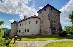 Slovakien - Zvolen slott arkivbild