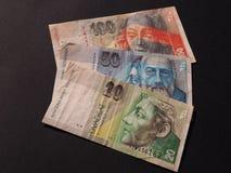 Slovakisk valuta Royaltyfri Fotografi