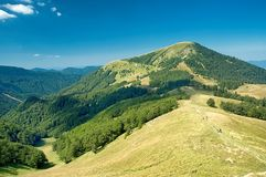 Slovakiska berg Arkivfoto