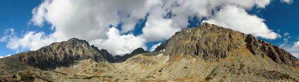 Slovakiska höga berg Arkivfoton