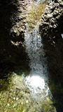Slovakiska nationalparkvattenfall Fotografering för Bildbyråer