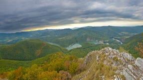 Slovakiskt landskap Arkivbild