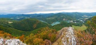 Slovakiskt landskap Arkivfoto