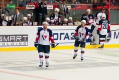 Slovan (布拉索夫)的球员 图库摄影