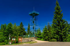 Slovanka lookout tower Royalty Free Stock Image