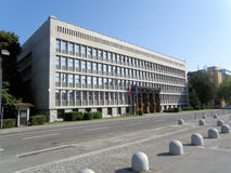 Sloveens Parlementsgebouw (169) Stock Fotografie