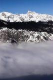 Sloveense alpen royalty-vrije stock afbeeldingen