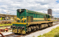 Free Slovene Shunter In Ljubljana Rail Station Royalty Free Stock Photography - 46524057