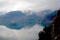 Slovenië in Daling Royalty-vrije Stock Afbeelding