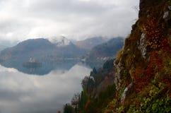 Slovenië in Daling Stock Fotografie