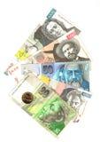 Slovenië en Slowakije; symbolen Royalty-vrije Stock Foto's