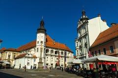 Slovenië - marburg - maribor Stock Foto's