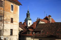 slovenië stock foto