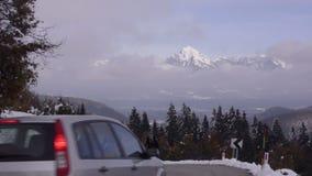Slovenia Ślad w dolinie zdjęcie wideo