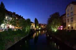 Slovenia em a noite Fotos de Stock
