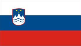 Slovenia flag Royalty Free Stock Photos