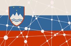Free Slovenia Flag Concept Stock Photography - 92573942
