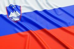 Slovenia flag Stock Photo