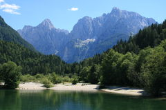 Slovenia Kranjska Gora Imagens de Stock Royalty Free