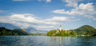 Slovenia, Lake Bled Stock Photo