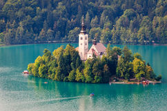 Slovenia, Lake Bled Stock Photo