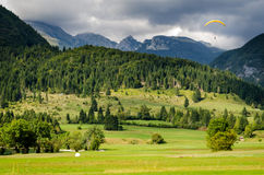 Slovenia, landscape and Mount Triglav Stock Photo