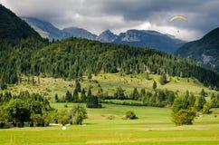 Slovenia, landscape and Mount Triglav Stock Photo