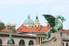 Slovenia old town Stock Image