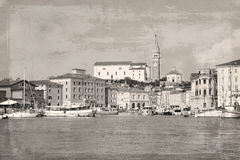 Slovenia, old town Piran Royalty Free Stock Images