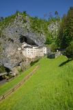 Slovenia, picturesque and historical castle of Predjama Stock Photography