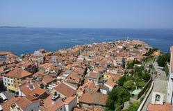 Slovenia, Piran, cityscape Stock Photos