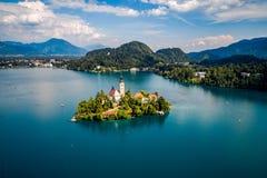 Slovenia - resort Lake Bled. Royalty Free Stock Image