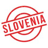 Slovenia rubber stamp Stock Image