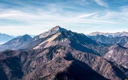 Slovenia scenic mountain landscape Storzic Stock Image