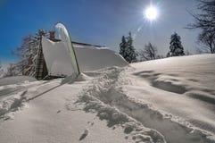 Slovenia, ski resort Vogel - winter picture stock photography