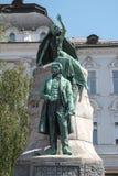 Slovenia, Statue dedicated to France Prešeren Stock Image