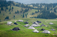 Slovenia, Velika Planina Royalty Free Stock Images