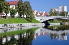 Slovenian capital Ljubljana Stock Image