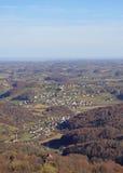 Slovenian countryside nearly city Maribor Royalty Free Stock Image
