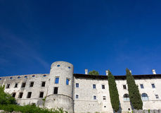 Slovenian Karst Village Royalty Free Stock Images