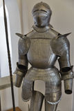 Slovenian medieval knight armor Stock Photos
