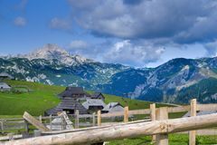 Slovenian mountains royalty free stock photography